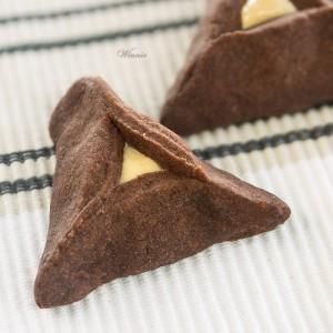 No-egg Cocoa-Shortbread Hamentachen