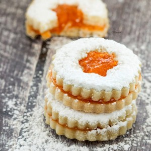 Shortbread Sandwich Cookies