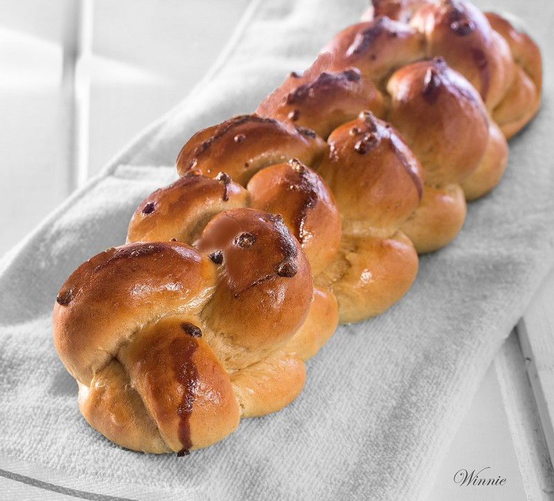 Extra Rich and Decorated Challah