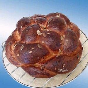 Enriched Eggs & Grains Challah for Jerusalem Day