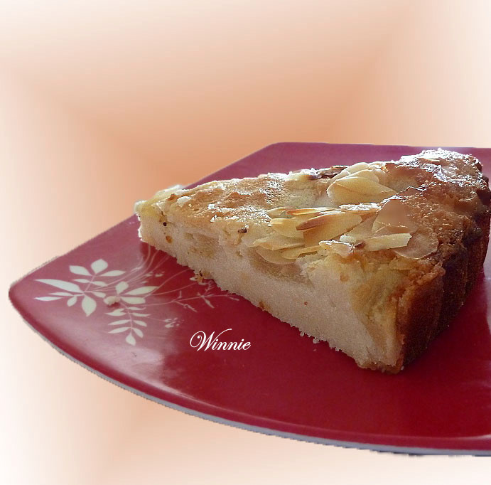 Unique Pear & Almond Tart