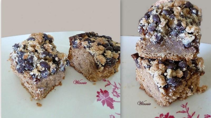 עוגת פירורים א+ו