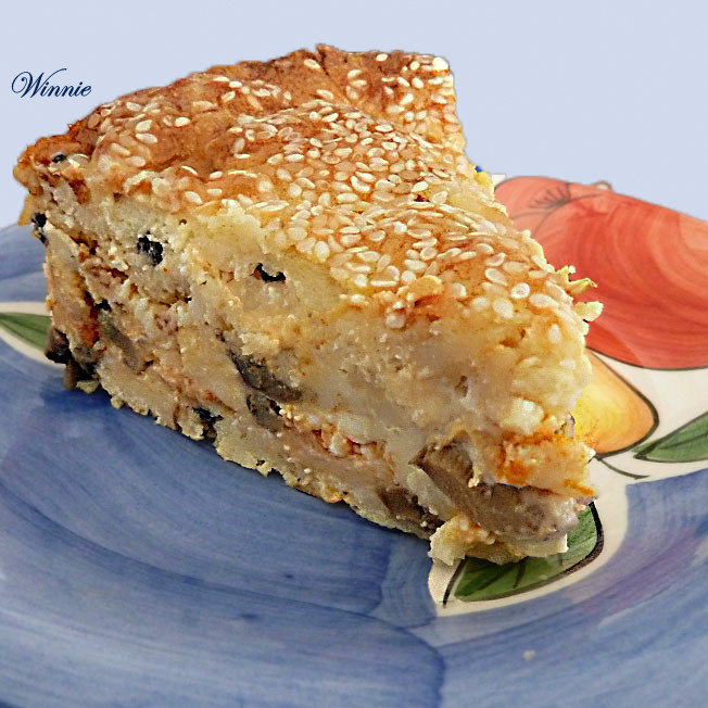 Rich Cheese Pastry