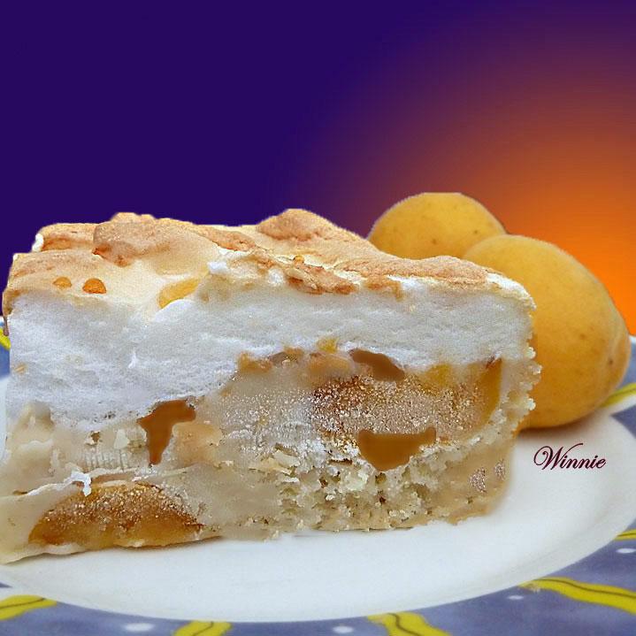 Apricot Meringue Cake