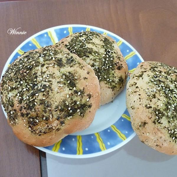 Pita-Bread with Zaatar
