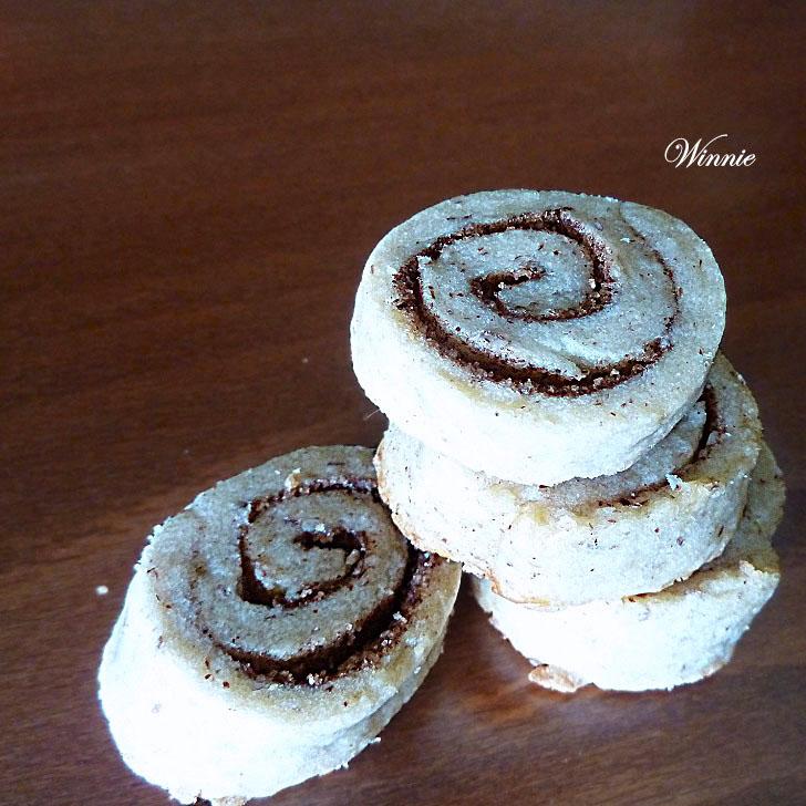 Cinnamon Eggless-Shortbread Cookies