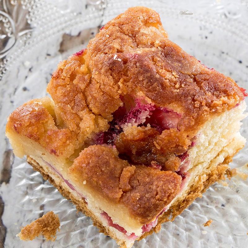 Tofino Gooey Plum Butter Cake