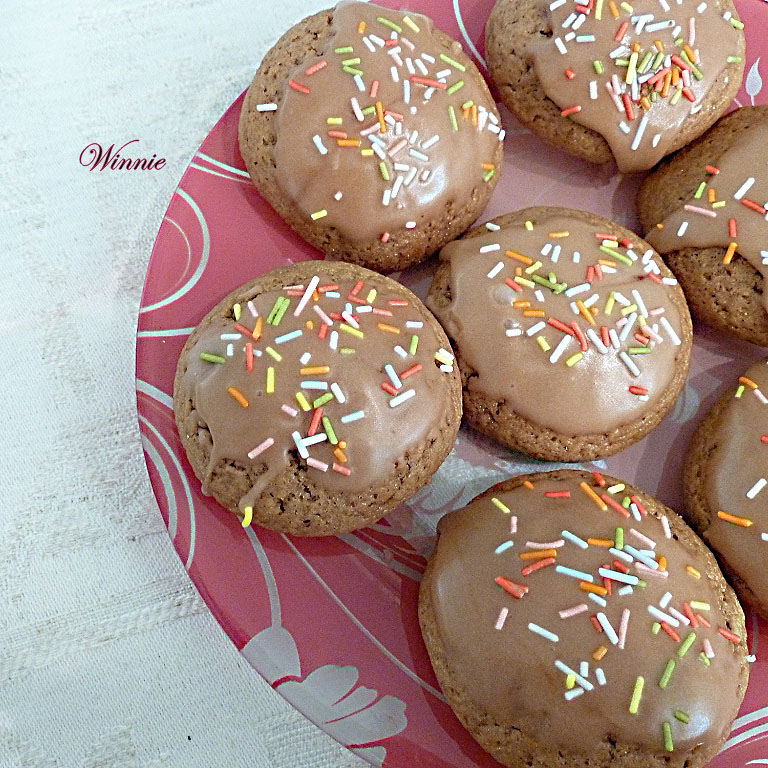 Unique Date-syrup (or Honey) Cookies
