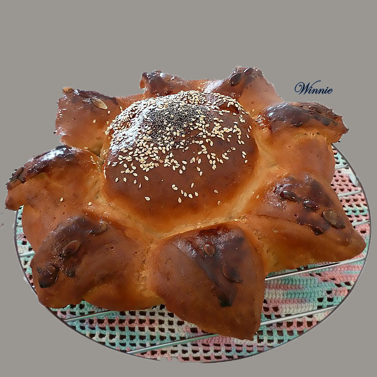 Mixed flour Challah