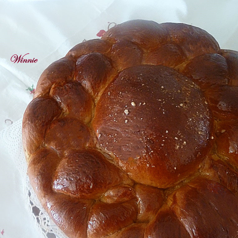 Date-syrup Challah