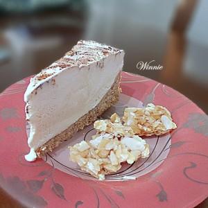 Frozen CheeseCake with Honey & Praline