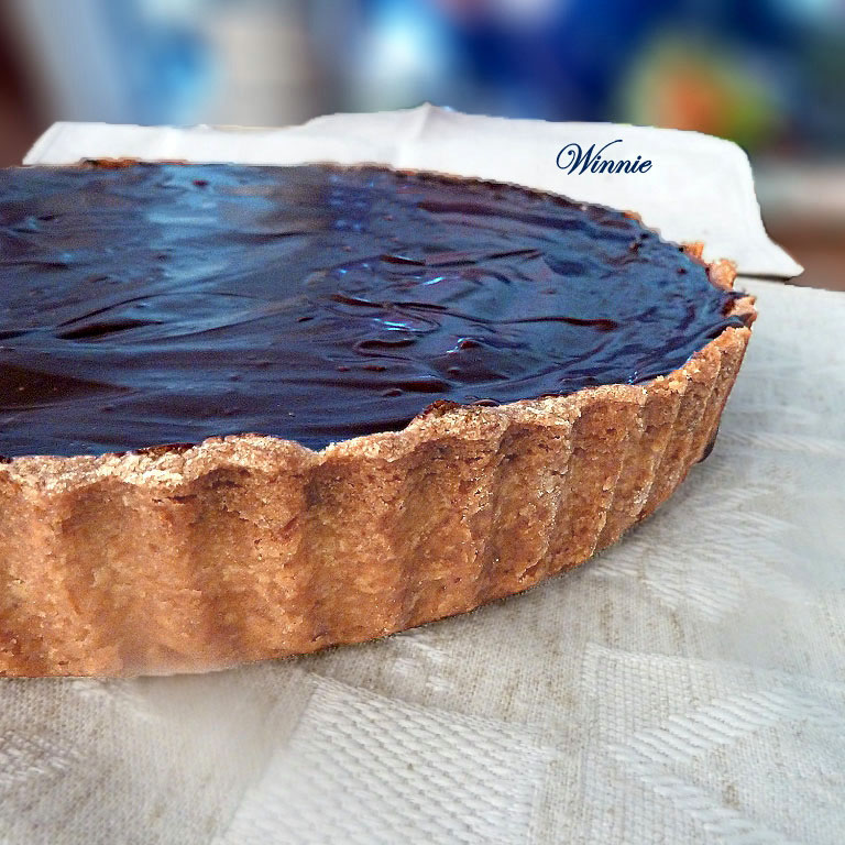 Rich Chocolate Fudge Tart