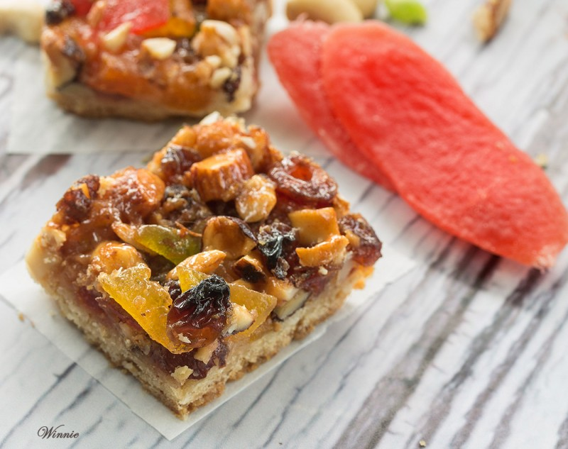 Nuts, Almonds & Dried Fruits Tart