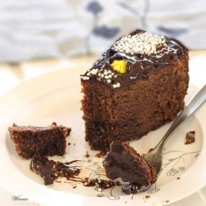Decadent Chocolate Fudge Cake