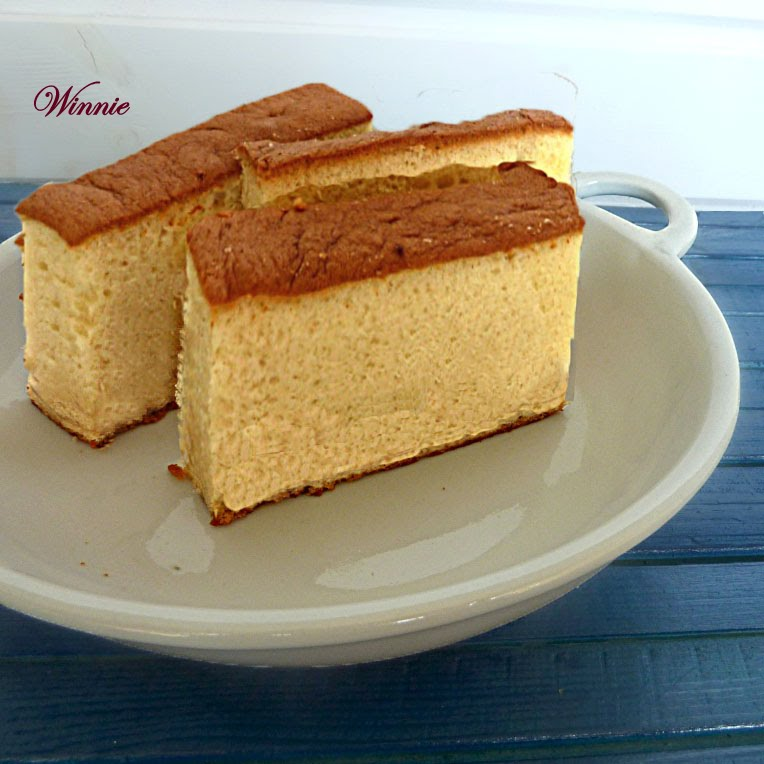 Japanese Honey Cake - Honey Castella