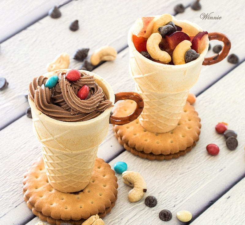 Edible Dessert Cups