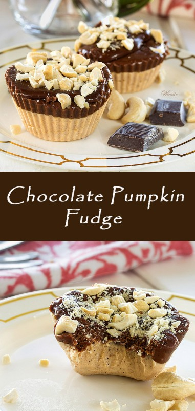 Delicious and easy-to-make Chocolate Pumpkin Fudge