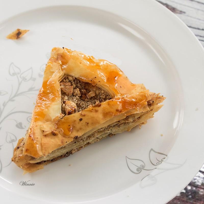 Phyllo (Filo) dough Hamantachen