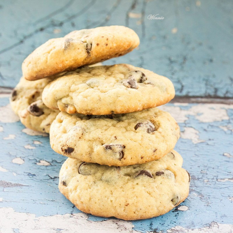 Cream-Cheese Chocolate-Chips Cookies