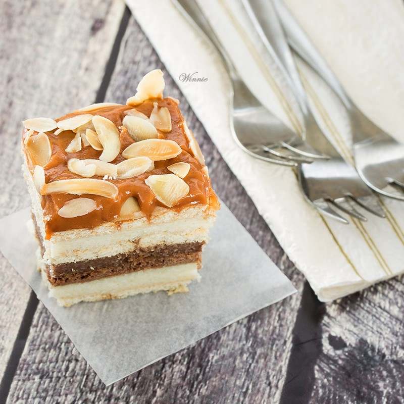 Three-Flavor Eclair Cake