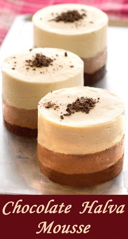 Chocolate Halva Mousse