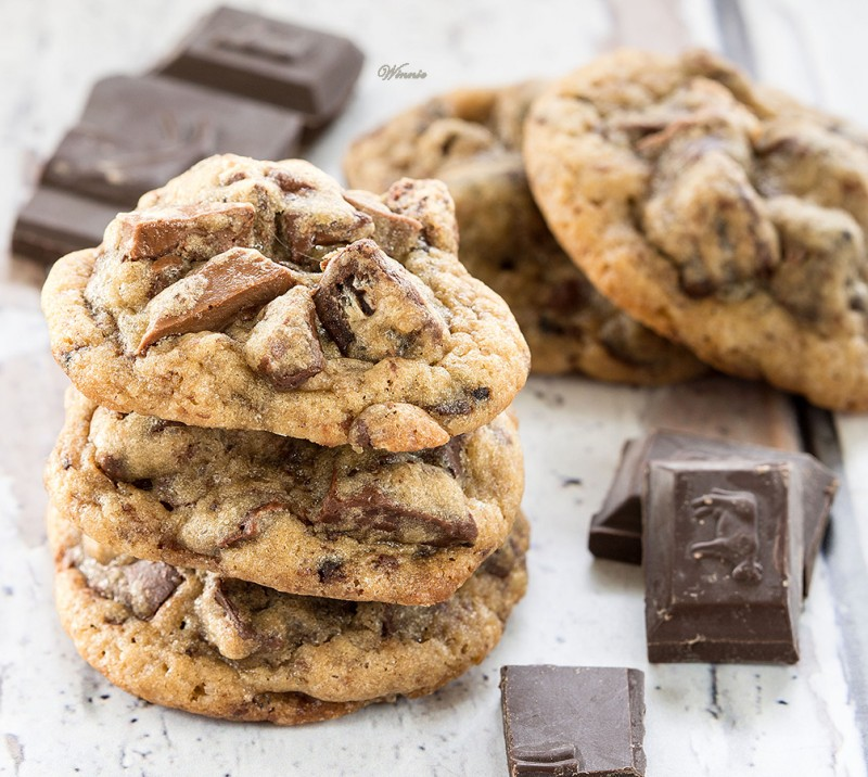 Rich Chocolate Cookies with Goodies