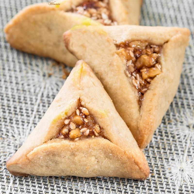 Peanut-Butter Hamentashen