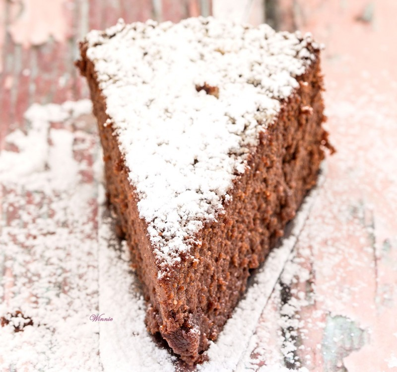 עוגת שוקולד עם סלק ללא גלוטן-1ד