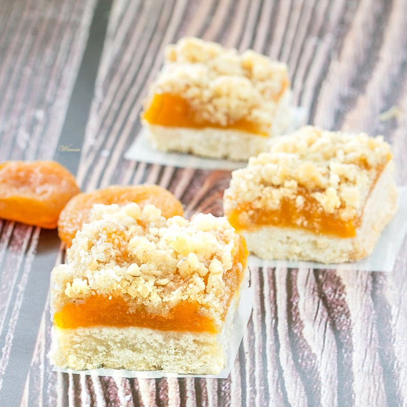 Dried Apricot Bars