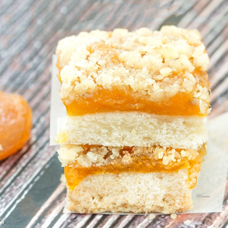 Dried Apricot Bars