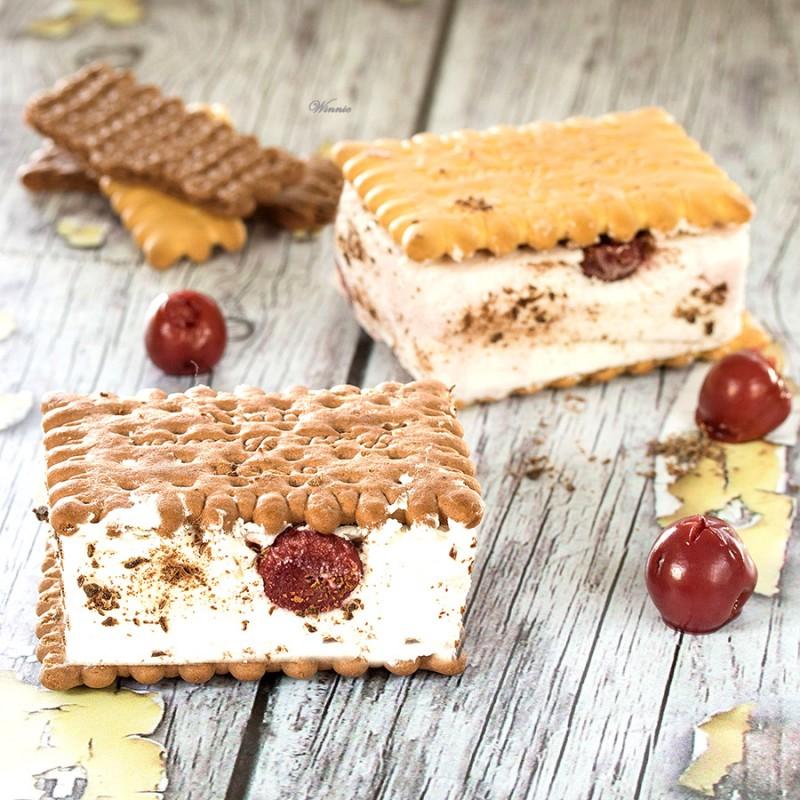 Black-Forest Ice-Cream Sandwiches
