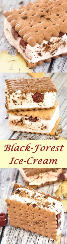 Black-Forest Ice-Cream Sandwiches